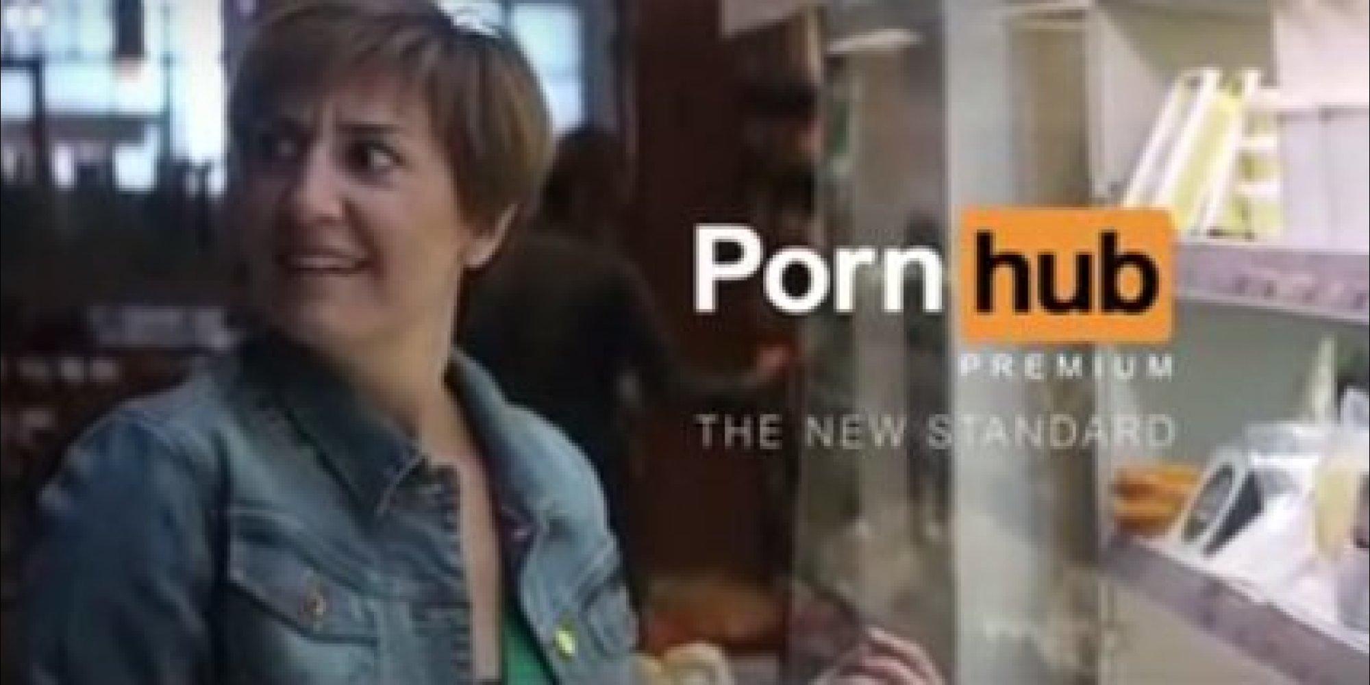 pornhub pas contente