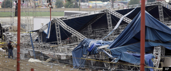 INDIANA STATE FAIR STAGE COLLAPSE