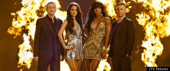 New X Factor Judges Group Photo Released
