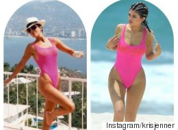 Kylie Jenner's Swimsuit Looks A Bit Familiar