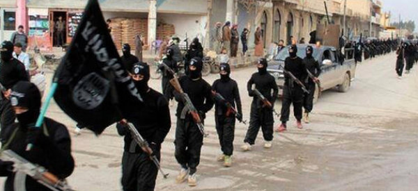 isis fighters iraq