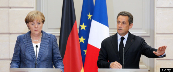 Merkel Sarkozy Eurozone Government