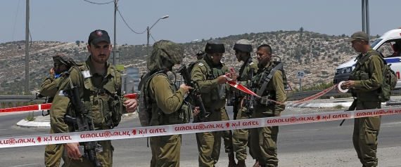 A PALESTINIAN STABBED AN ISRAELI SOLDIER