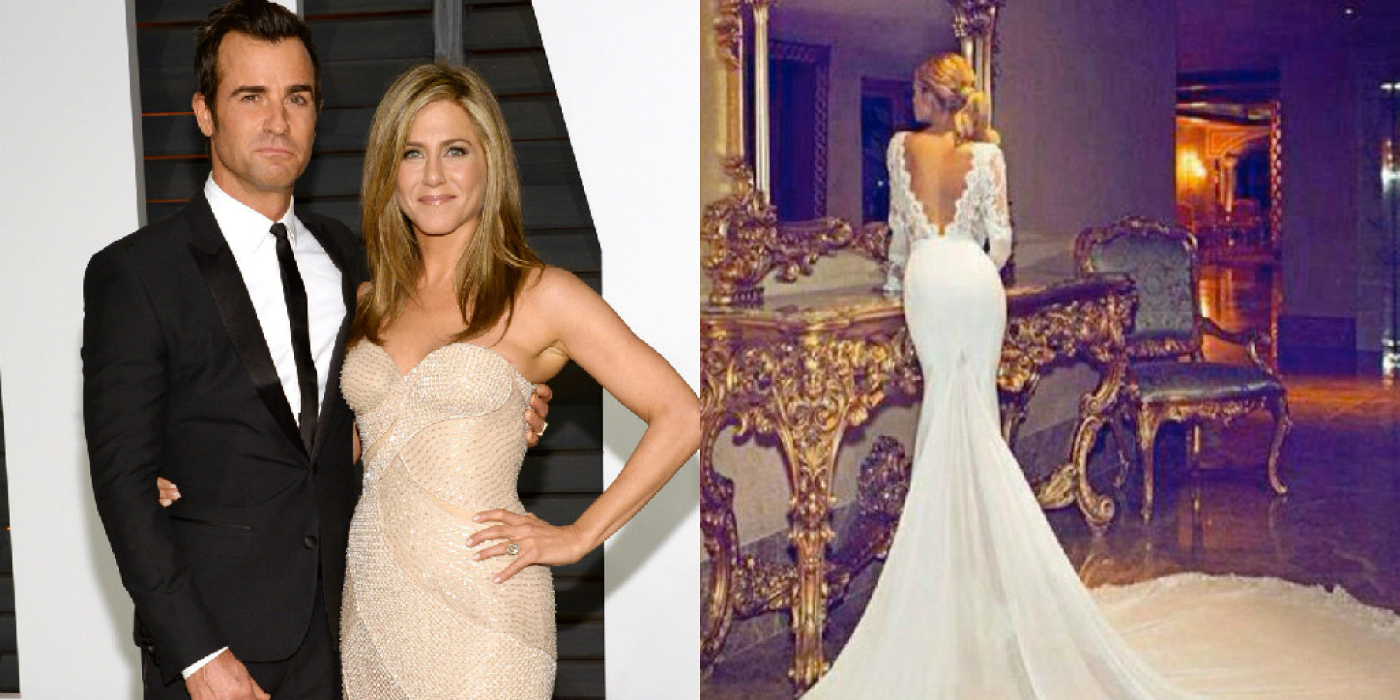 Jennifer Aniston Wedding Dress Photo Revealed To Be Fake