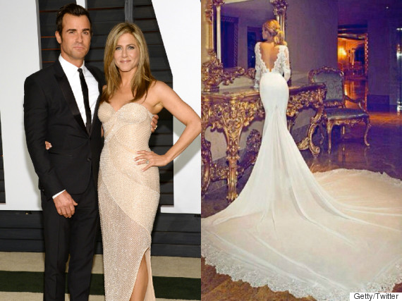 Jennifer Aniston S Wedding Dress