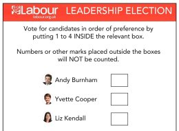 LEAKED: Official Labour Leadership Election Ballot Paper