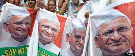 ANNA HAZARE INDIAN PRIME MINISTER