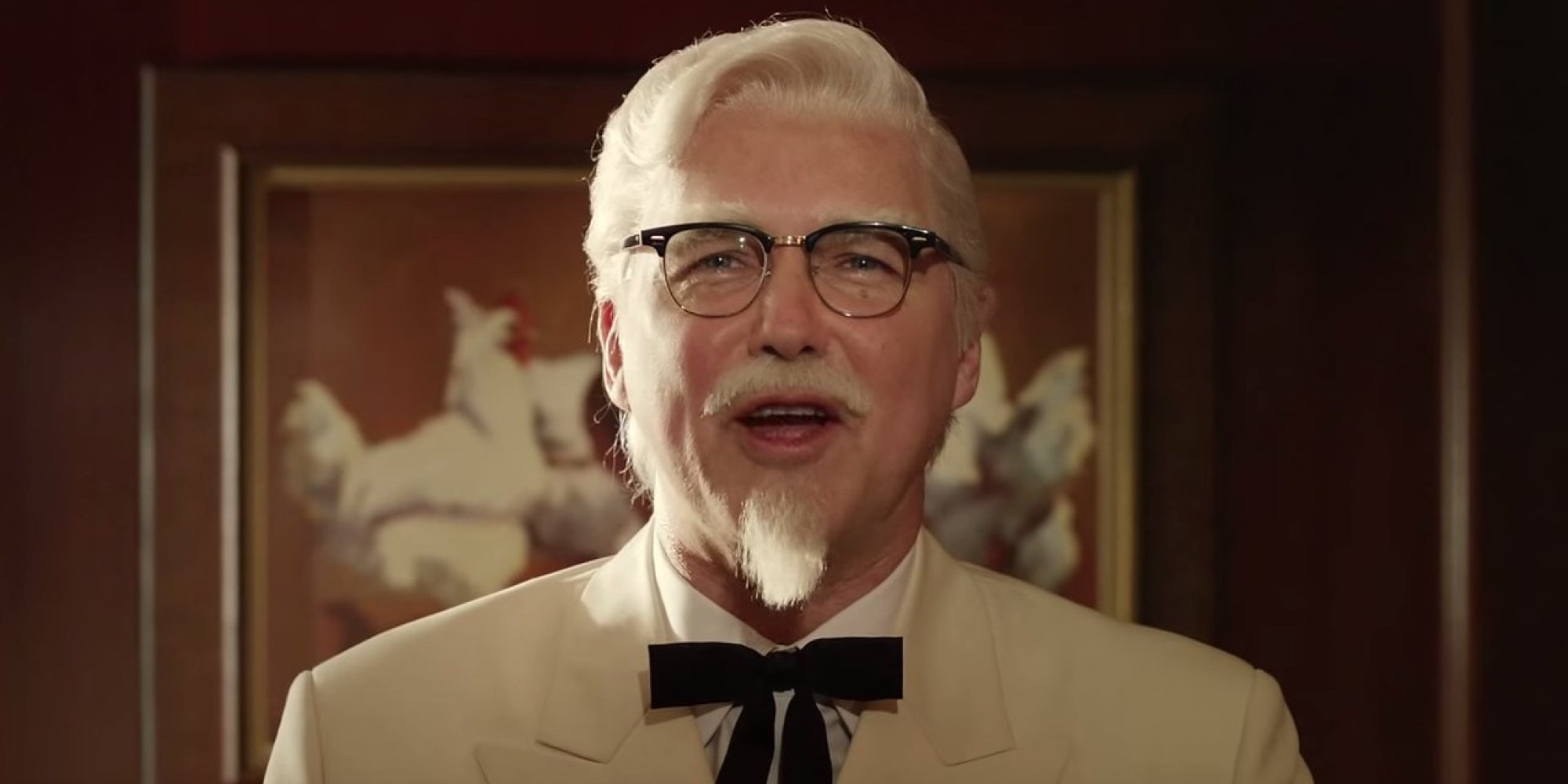 colonel sanders is norm macdonald in new kfc commercials. Black Bedroom Furniture Sets. Home Design Ideas