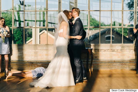 wedding faint