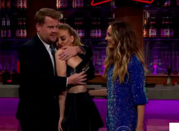 James Corden Asks Perrie The One Question She Doesn't Want To Answer