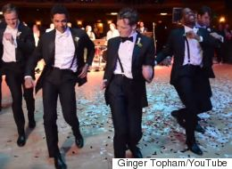 This Groom's Choreographed Dance Medley Surprised His New Wife, And The Whole Internet