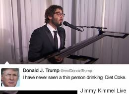 Josh Groban Sings The Tweets Of Donald Trump