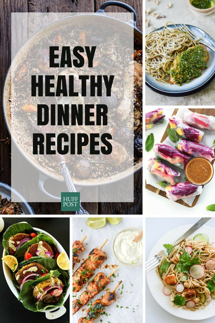 Healthy dinner recipes that make it easy huffpost dinner forumfinder Gallery