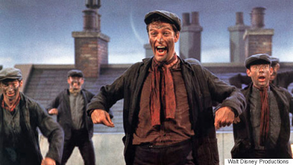 dick van dyke mary poppins