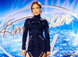 J. Lo y su minivestido están listos para despedir a 'American Idol'
