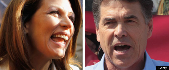 Bachmann Perry Gop Outsiders