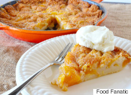 Peachy Skillet Peach Cobbler Just For You