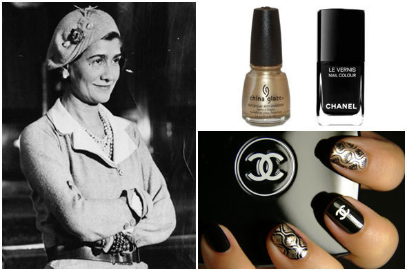 Chanel Inspired Nail Art Diy Huffpost