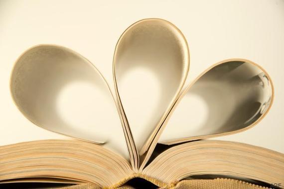 people reading books