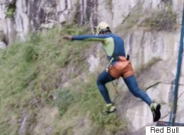 We Dare You To Watch This Record-Breaking Jump Off A Waterfall