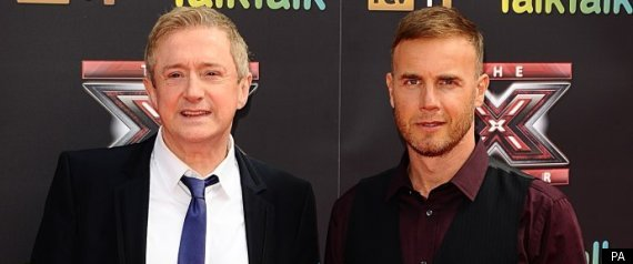 Louis Walsh And Gary Barlow