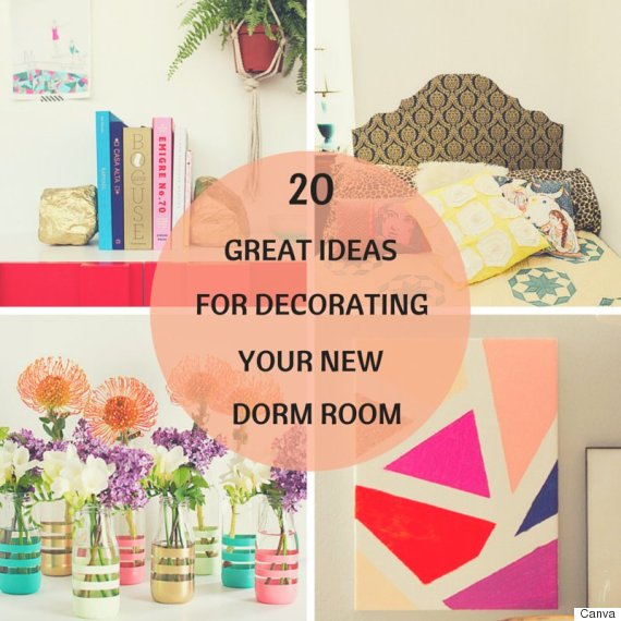 Dorm room decor 20 cheap and easy ways to decorate your space for Ways to decorate your room