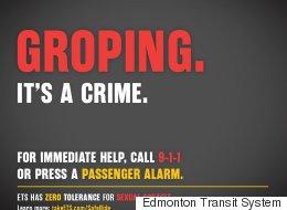 Edmonton Transit Posters Take Aim At Sexual Harassers