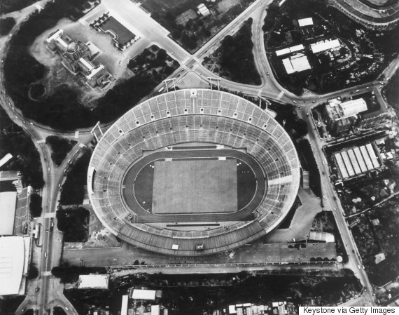 japan stadium national 1964