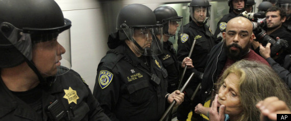 Bart Protest Hacking