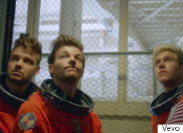 1D Blast Off In New Music Video