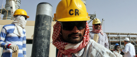 OIL FIELDS IN SAUDI ARABIA