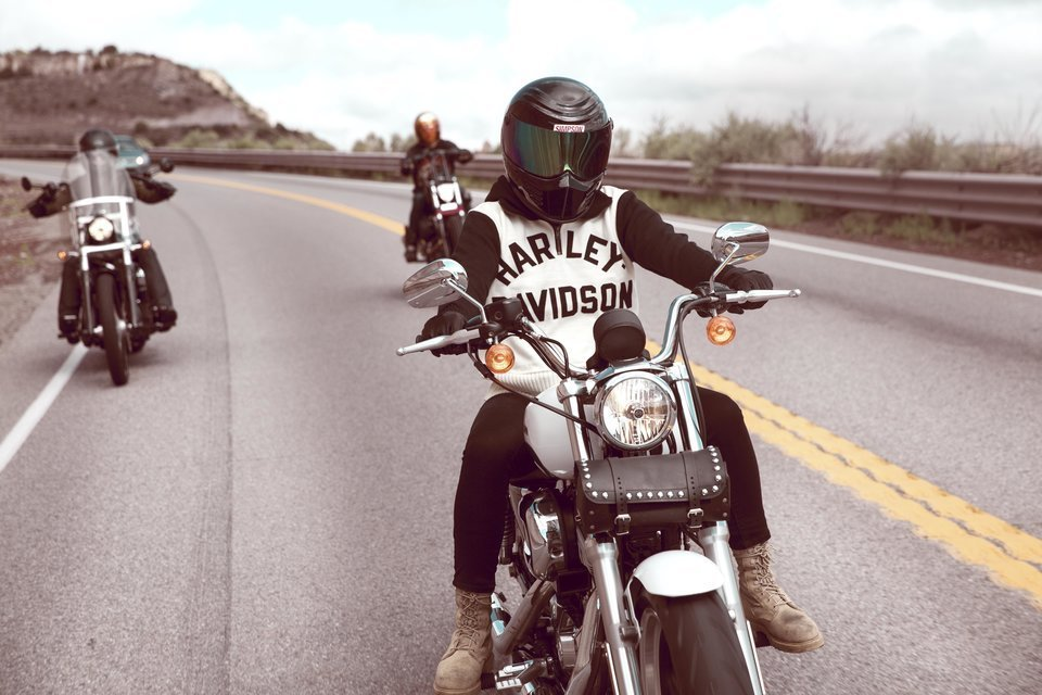 moto filles