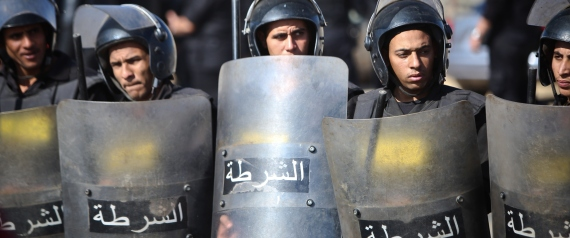 SECURITY FORCES IN EGYPT