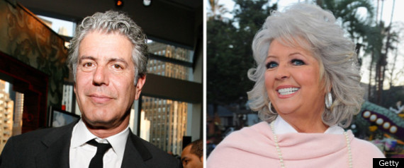 PAULA DEEN ANTHONY BOURDAIN