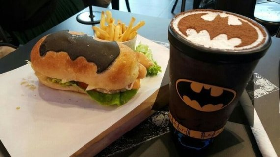 cafe batman