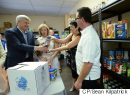 Harper Only Leader To Campaign On Sunday