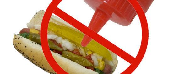 KETCHUP ON HOT DOGS
