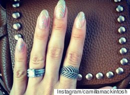 #ManicureMonday: How To Get Millie Mackintosh's V Festival Nails