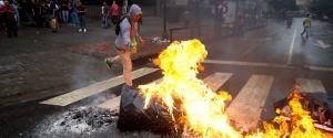 PROTESTERS VENEZUELA
