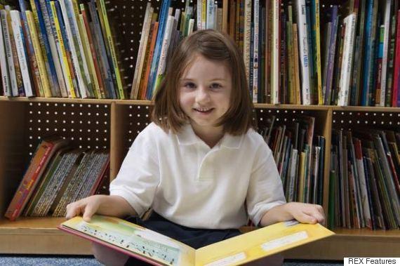 child reading levels