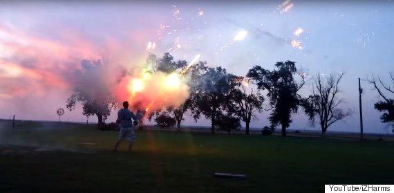 firework cannon