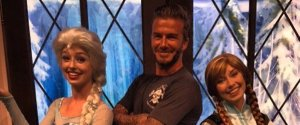 DAVID BECKHAM FROZEN