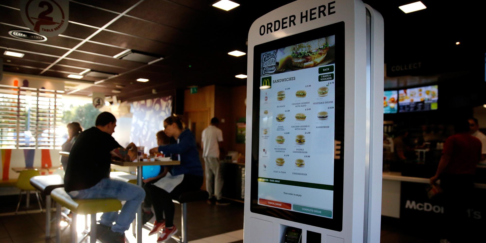 Mcdonald S Canada Self Serve Kiosks Not A Threat To Jobs