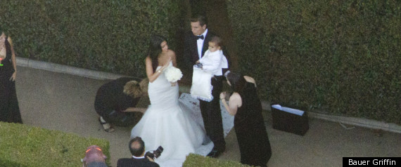 KOURTNEY KARDASHIAN KIMS WEDDING