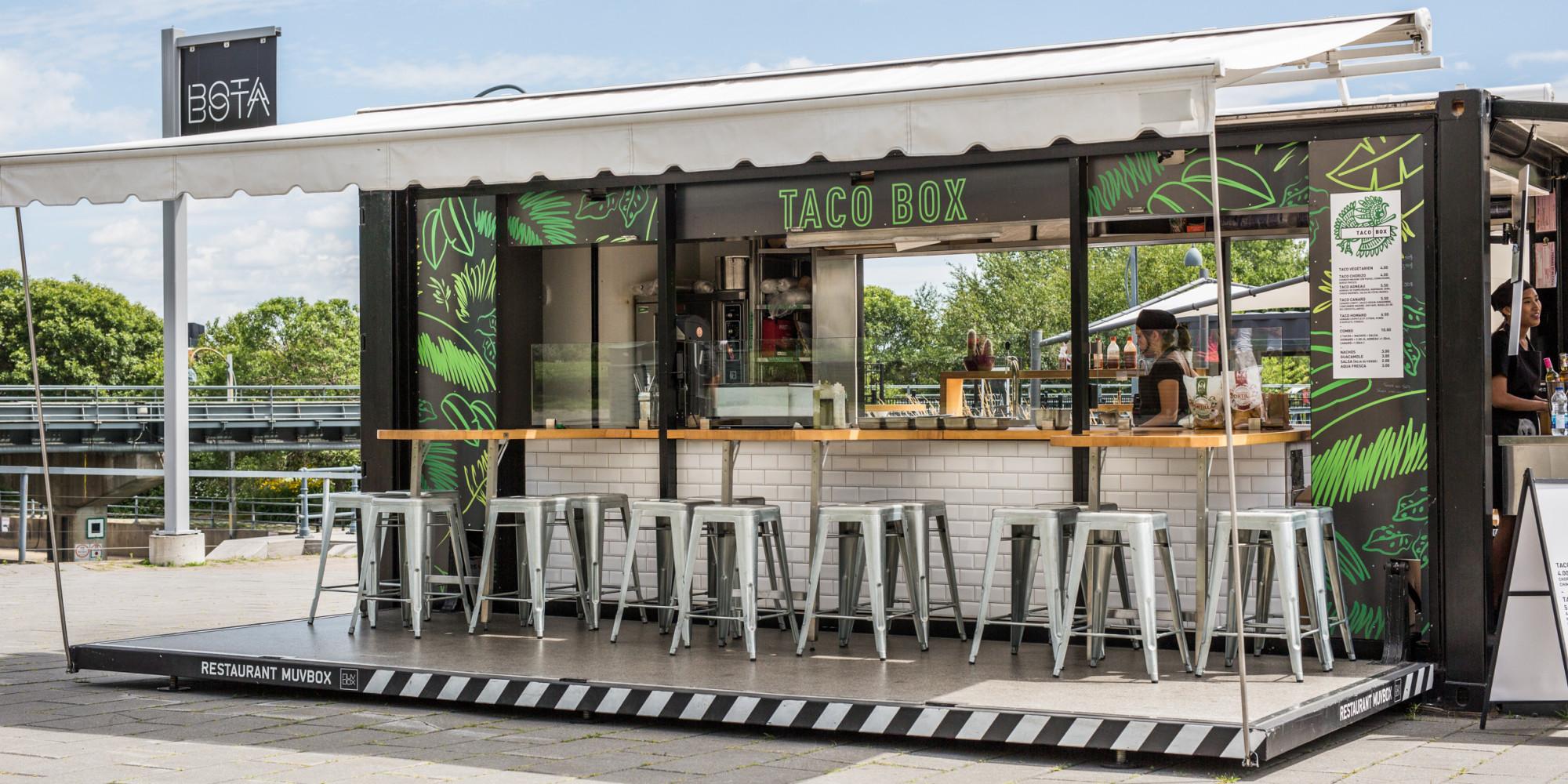 Tacobox un nouveau restaurant mobile au vieux port de montr al - Restaurant vieux port de quebec ...