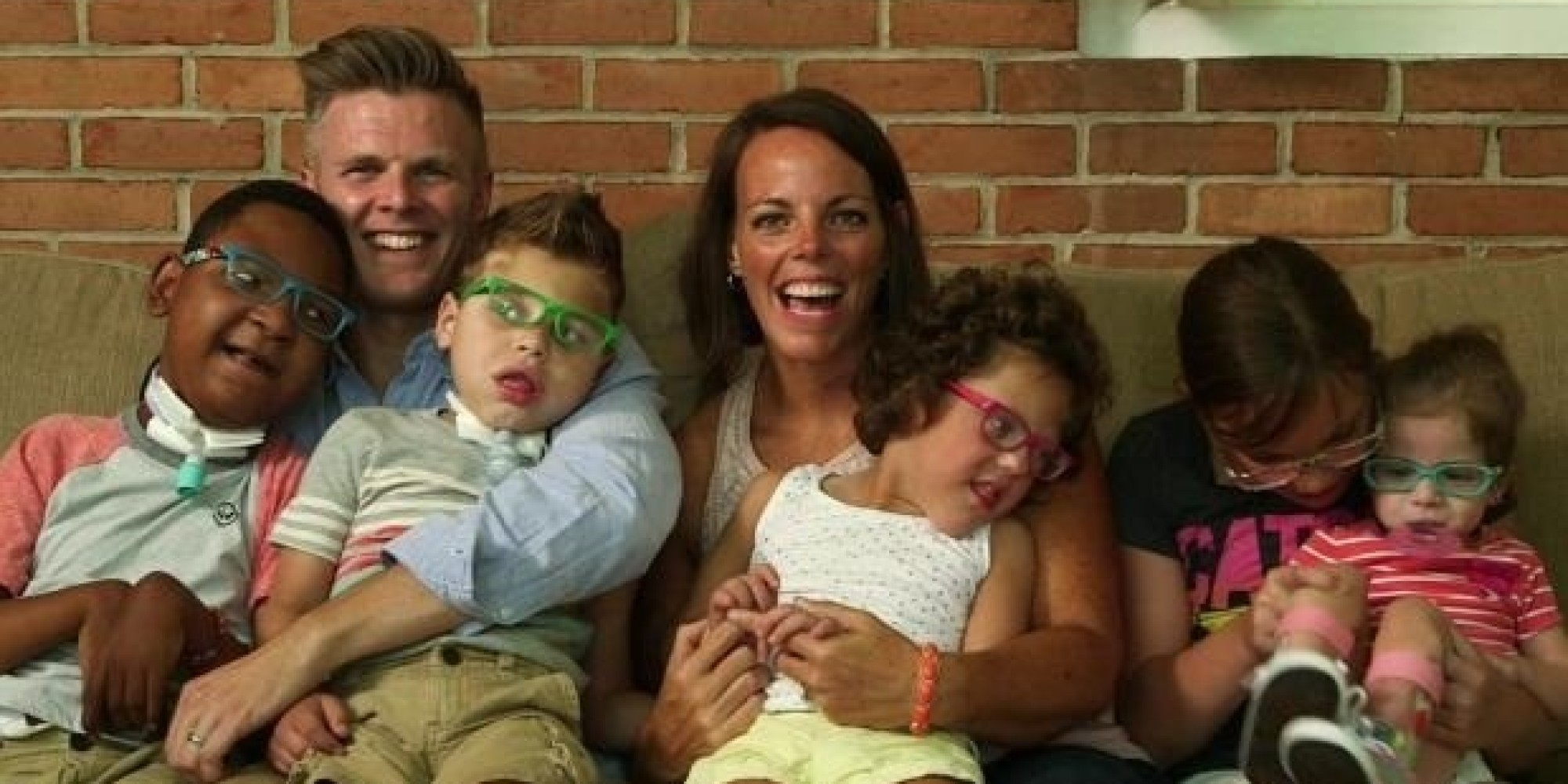Couple Expands Family With Special Needs Adoption Huffpost