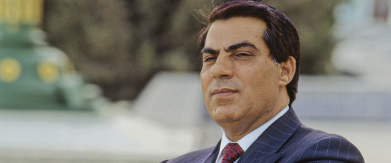 TUNISIAN PRESIDENT ZINE EL ABIDINE BEN ALI