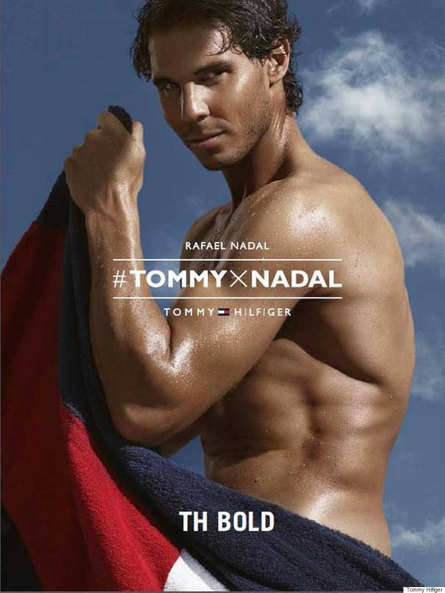 Rafael Nadal Strips Down For Steamy Tommy Hilfiger Ad PHOTOS