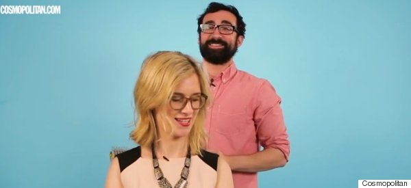 Hilarious Scenes As Guys Fail To Put Hair Extensions On A Woman