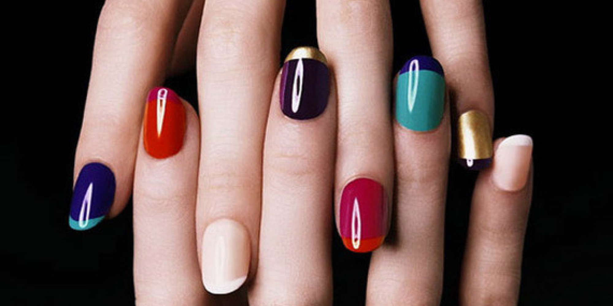 what a girl's nail polish color tells about her